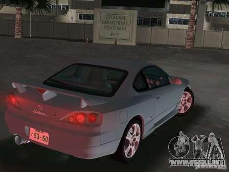 Nissan Silvia spec R Light Tuned para GTA Vice City vista lateral izquierdo