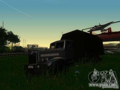 KrAZ-254 para GTA San Andreas left