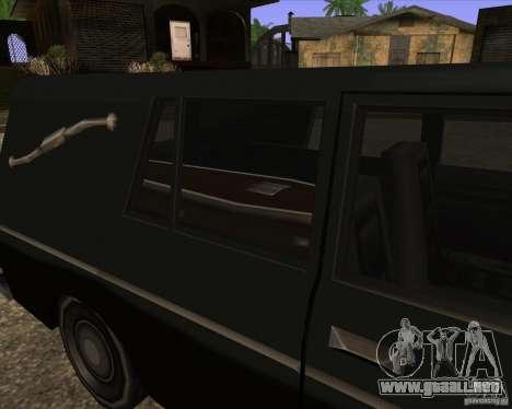 Coffin San Andreas Stories para GTA San Andreas vista posterior izquierda