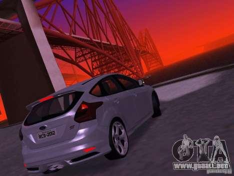 Ford Focus ST 2013 para la visión correcta GTA San Andreas