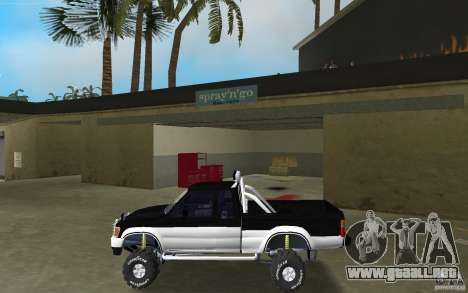 Toyota Hilux Surf para GTA Vice City left