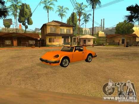 Desovar coches para GTA San Andreas octavo de pantalla