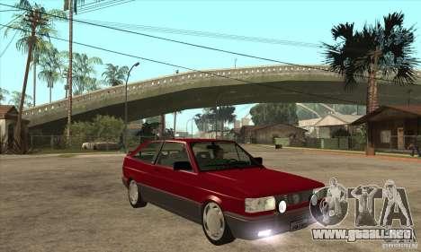 Volkswagen Gol GTS 1994 para GTA San Andreas vista hacia atrás