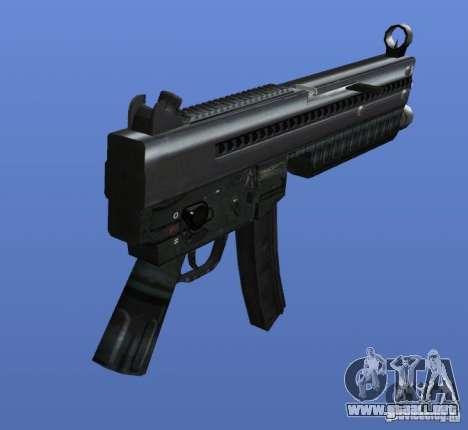 Heckler & Koch MP5 para GTA 4 segundos de pantalla