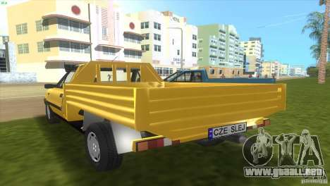 FSO Polonez Truck para GTA Vice City vista lateral izquierdo