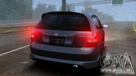 Honda Civic Type-R (EP3) para GTA 4 visión correcta
