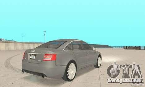 Audi A6 3.0 TDI quattro 2004 para GTA San Andreas