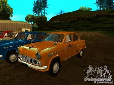 Taxi Moskvich 403 para GTA San Andreas
