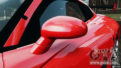 SRT Viper GTS-R 2012 v1.0 para GTA 4 vista lateral