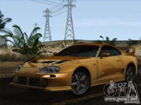 Toyota Supra TRD3000GT v2 para GTA San Andreas left