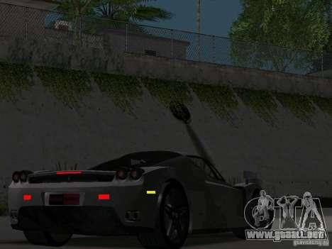 Ferrari Enzo Novitec V1 para visión interna GTA San Andreas