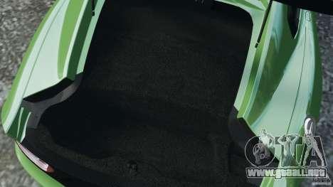 SRT Viper GTS 2013 para GTA 4 vista desde abajo