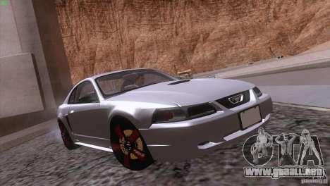 Ford Mustang GT 1999 para el motor de GTA San Andreas
