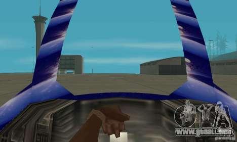Chuckup para GTA San Andreas vista hacia atrás