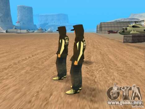 Ken Block Family para GTA San Andreas segunda pantalla