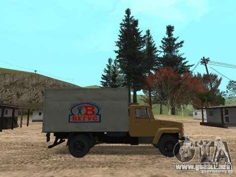 GAZ 3309 CR v2 para GTA San Andreas left