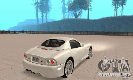 Panoz Esperante GTLM 2005 para GTA San Andreas left