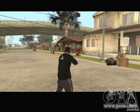 Sangue na tela v2 para GTA San Andreas tercera pantalla