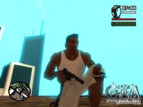 Gangster Weapon Pack para GTA San Andreas segunda pantalla