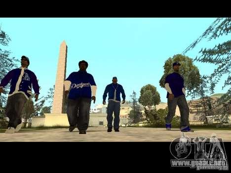 Piru Street Crips para GTA San Andreas undécima de pantalla
