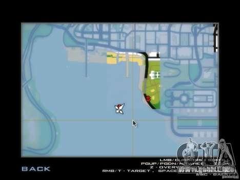 Biblioteca-mapa de Point Blank para GTA San Andreas sexta pantalla