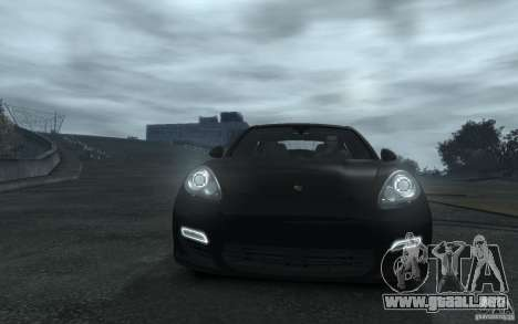 Porsche Panamera Turbo para GTA 4 vista lateral