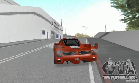Ferrari FXX para GTA San Andreas left