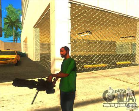 M134 minigan para GTA San Andreas