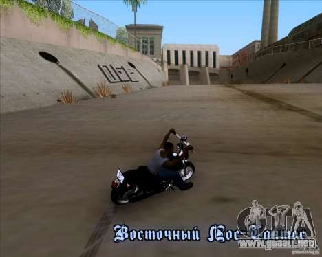 Harley Davidson FXD Super Glide para visión interna GTA San Andreas