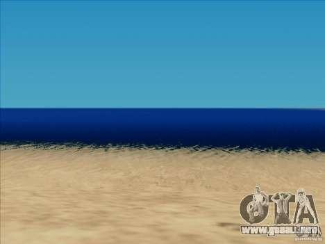 ENB v1.01 para PC para GTA San Andreas sucesivamente de pantalla