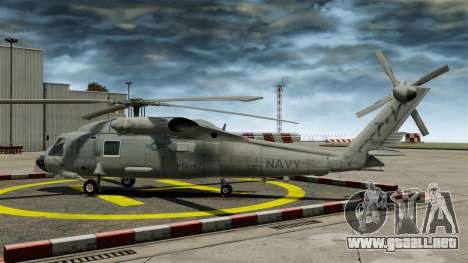 El helicóptero del Sikorsky SH-60 Seahawk para GTA 4 left