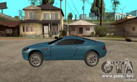 Aston Martin DB9 de NFS MW para GTA San Andreas left