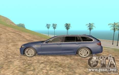 BMW M5 F11 Touring para la visión correcta GTA San Andreas