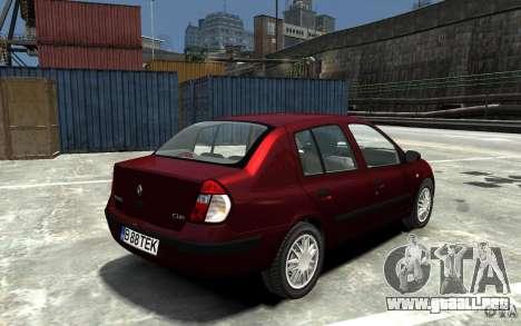 Renault Clio 1.4L para GTA 4 visión correcta