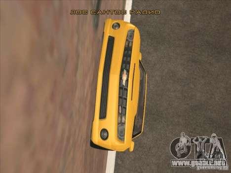 Montar a caballo en las paredes para GTA San Andreas tercera pantalla