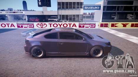 Toyota Scion TC 2.4 Tuning Edition para GTA 4 vista lateral