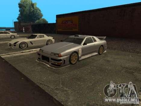Elegy estándar para GTA San Andreas vista posterior izquierda