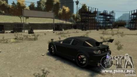 MAZDA RX8 para GTA 4 visión correcta