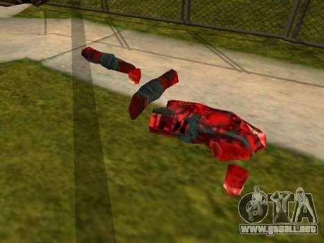 Chainsaw Massacre v. 2.0 para GTA San Andreas tercera pantalla
