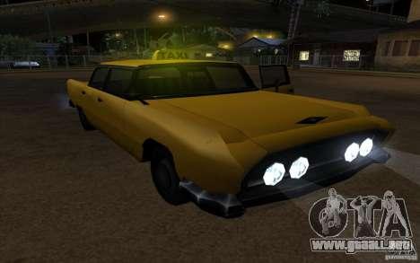 Oceanic Cab para la visión correcta GTA San Andreas
