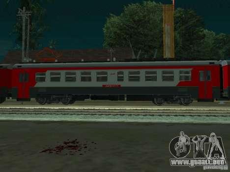 ÈD4M-0171 RUSSIAN RAILWAYS para GTA San Andreas left