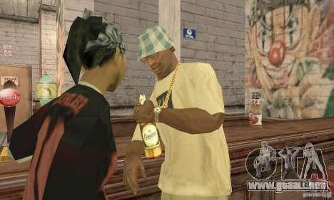 Cerveza SLAVUTYCH para GTA San Andreas segunda pantalla