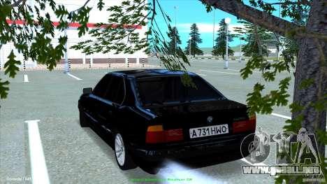 BMW E34 V1.0 para GTA San Andreas left