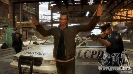 Imágenes de arranque en el estilo del GTA IV para GTA San Andreas tercera pantalla