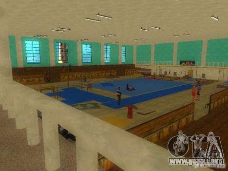 Tricking Gym para GTA San Andreas segunda pantalla