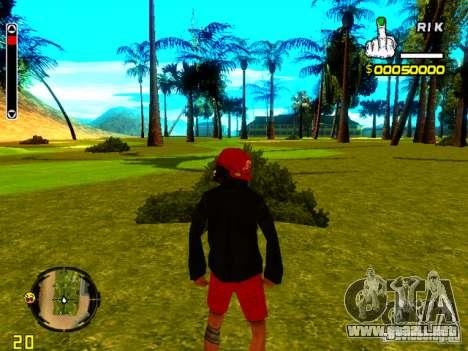 Piel vago v1 para GTA San Andreas quinta pantalla