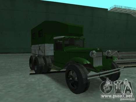 GAZ-AAA para GTA San Andreas
