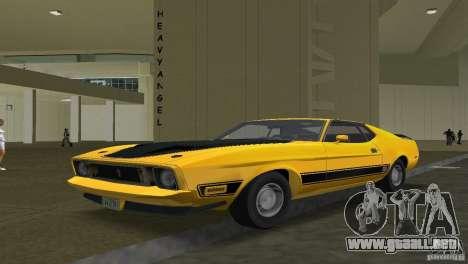 Ford Mustang 1973 para GTA Vice City