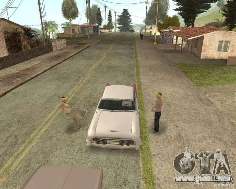 More Hostile Gangs 1.0 para GTA San Andreas quinta pantalla