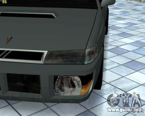 Nuevas máquinas de textura para GTA San Andreas quinta pantalla